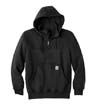 CT100617 - Paxton Heavyweight Hooded Zip Mock Sweatshirt