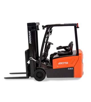 Miniature Electric Forklift Model Truck