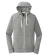 NEA122 - Sueded Cotton Full-Zip Hoodie
